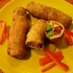Paneer Chilly Roll