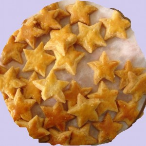 Pineapple Star Cookies