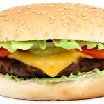 Hamburger, Beef Cheese Burger with Tomato