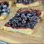 Blueberry Fluffy Pastry